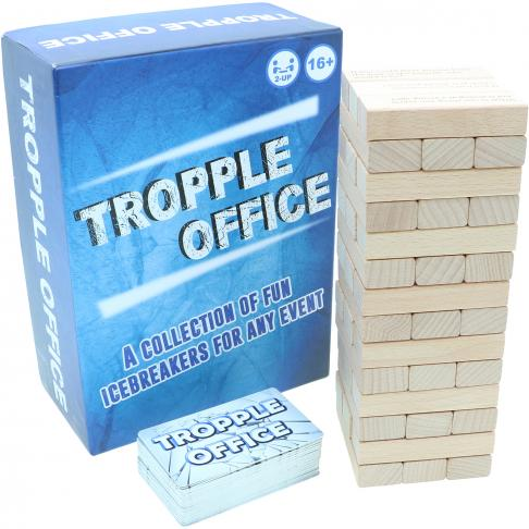 Tropple Office, Office Games, Wooden Stackers, Card Games 1