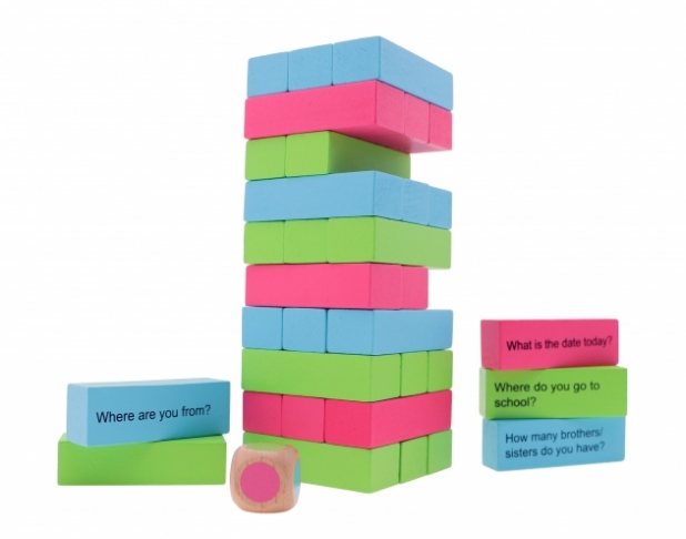 Tropple: Level 1, Educational Toys, Wooden Stackers, Wooden Games 5